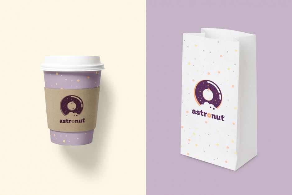 Branding for a new bakery from Mexico City specialized on donuts from outer space