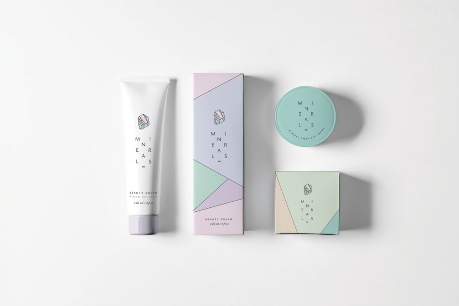 Minerals are natural beauty care products for young women and teens. Formulated with mineral ingredients that help care for all skin types. 100% Vegan. We developed the brand from scratch, inspired by colours and forms of real minerals.