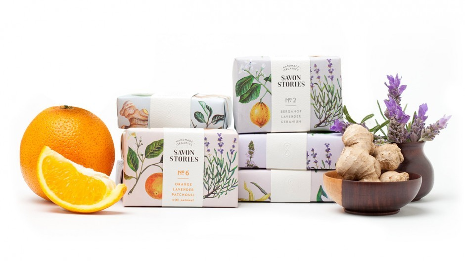 Packaging Design Savon Stories Lotion Bars