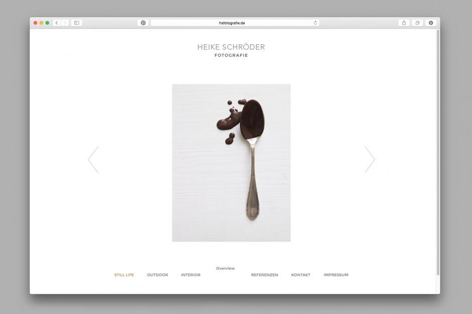 Heike Schröder Fotografie – Website