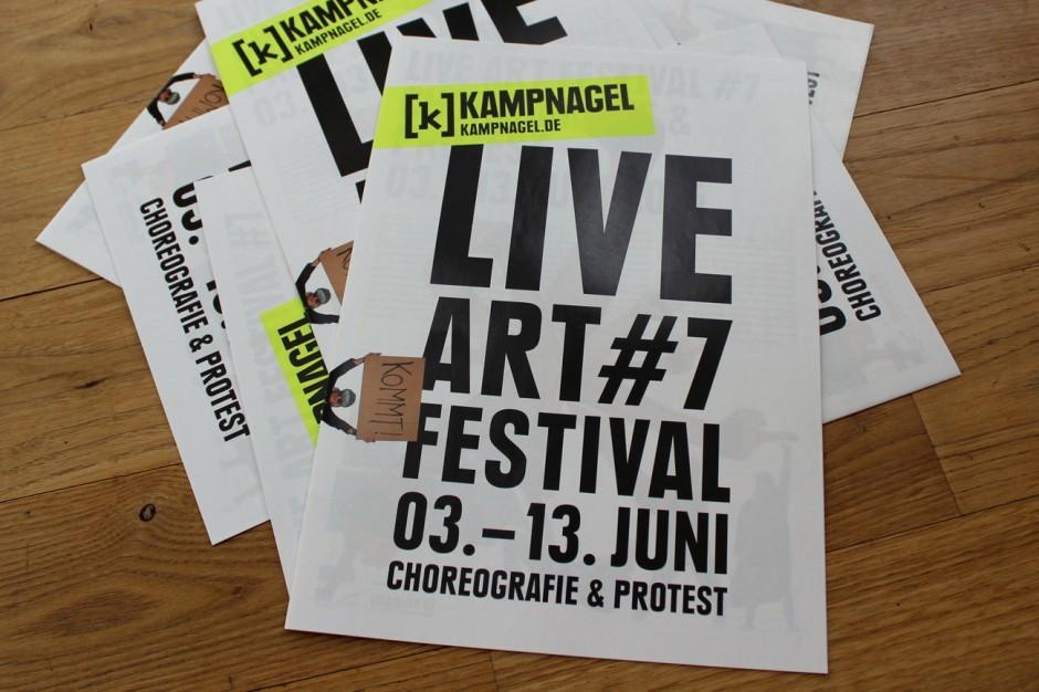 Kampnagel Live Art Festival #7 – Magazin