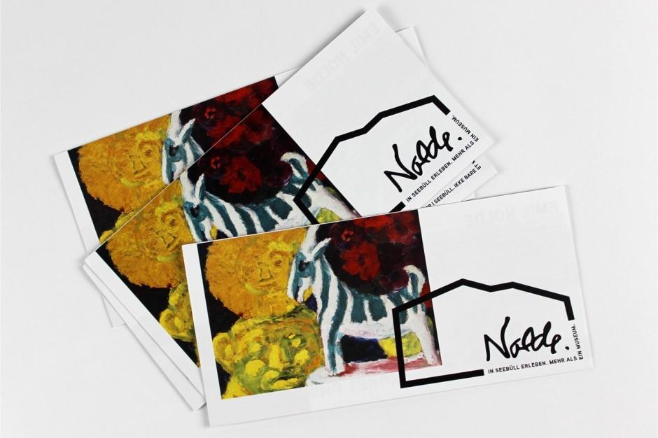 Nolde-Museum in Seebüll – Einladungskarten