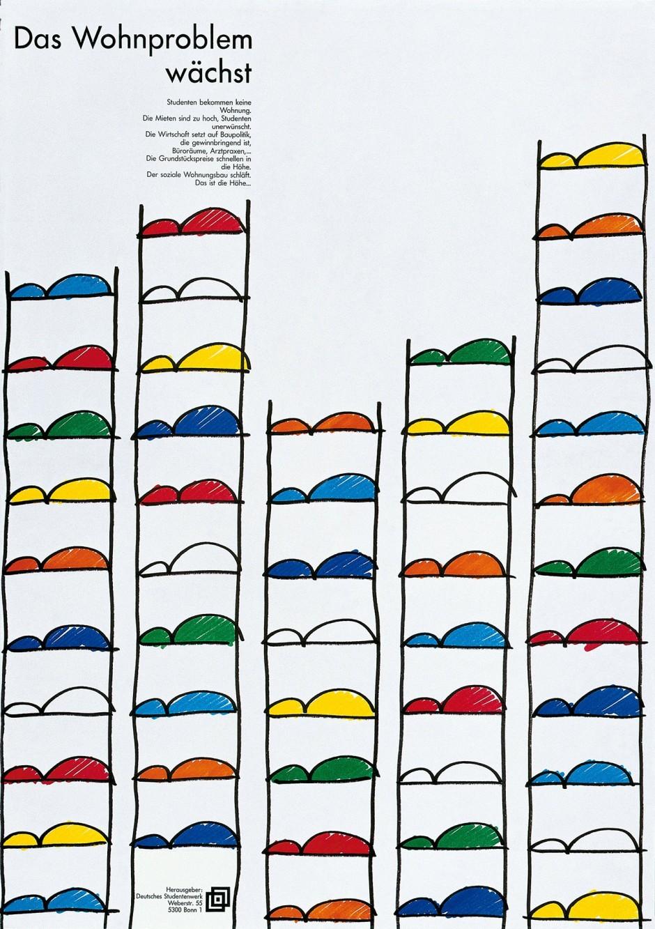 1991: Bude oder Penthouse – Wohnen während des Studiums / 1. Preis