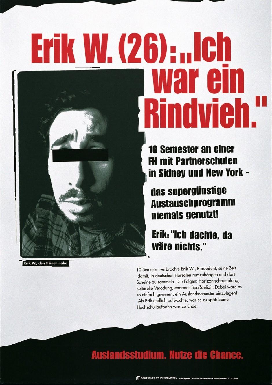 1999: Grenzen überschreiten – Studium International / 2. Preis