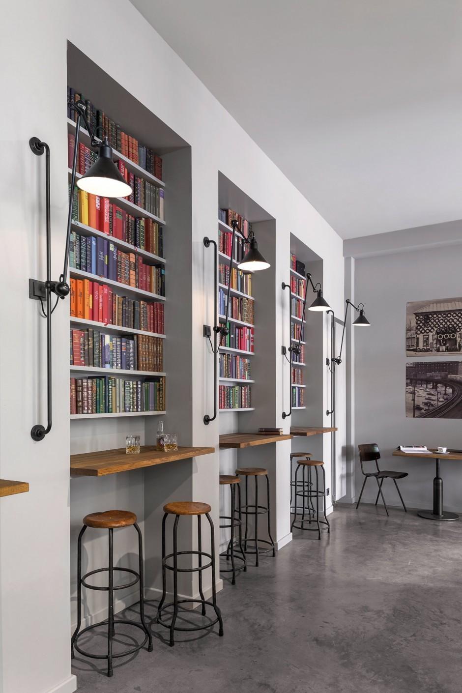 Interior Essbar Bücherregale