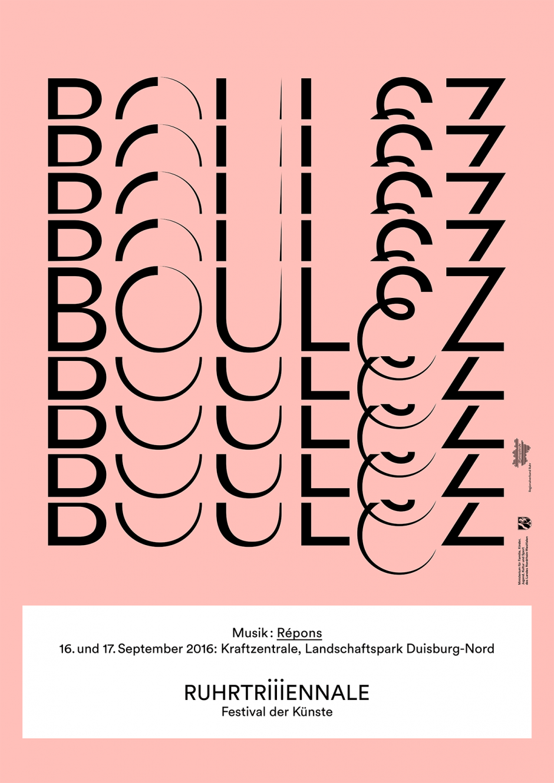 Ruhrtriiiennale: Plakatmotiv Produktionssujet