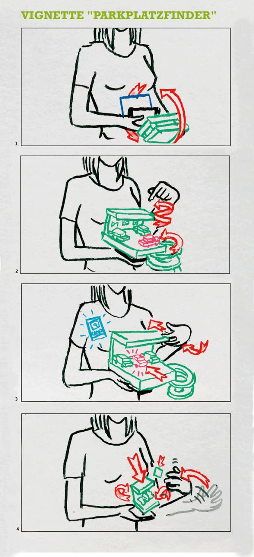 Motion Design, Motion Designer, Deli Creative, App, Stadtwerke Düsseldorf