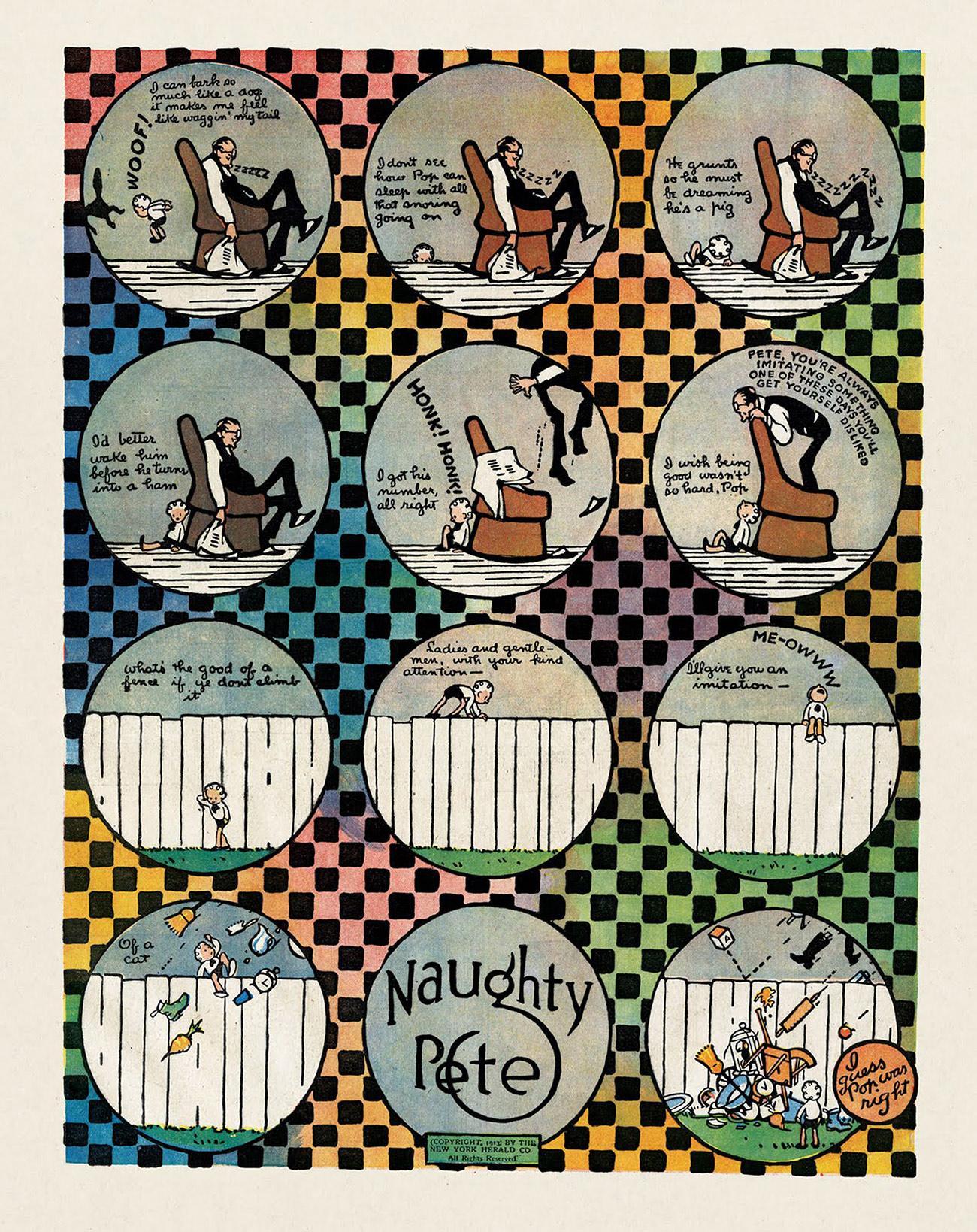 Schirn_Presse_Comic_Forbell_Naughty_Pete_19_10_1913