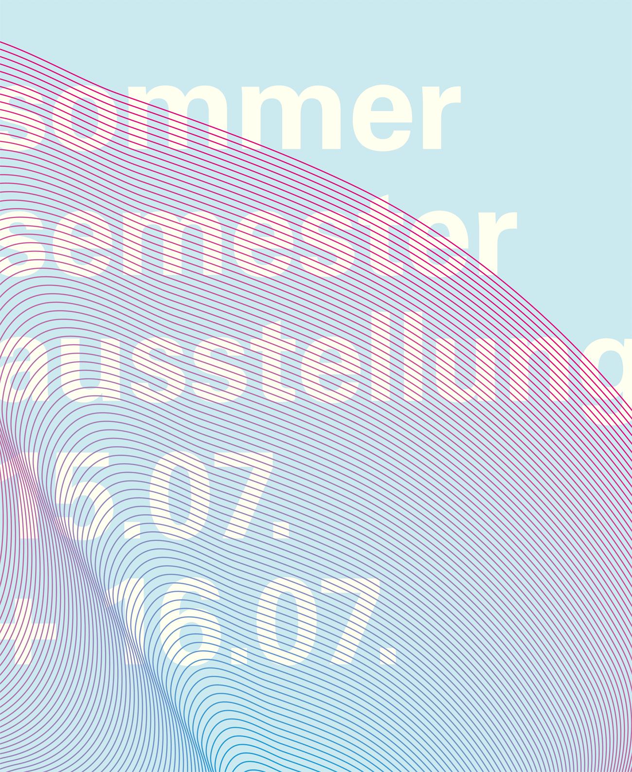 Sommersemesterausstellung2016_Plakat