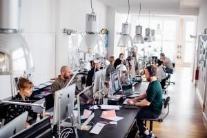 Corporate Design, Strichpunkt