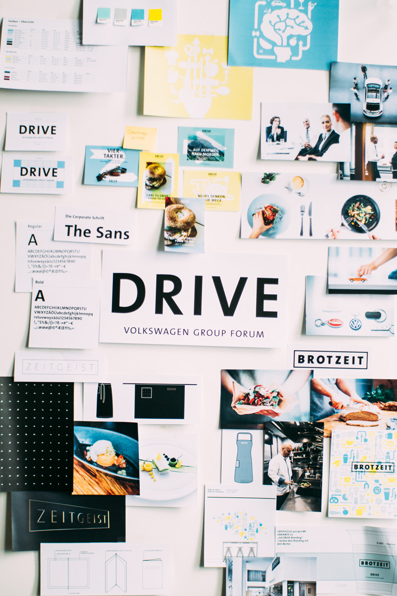 Corporate Design, Strichpunkt, DRIVE