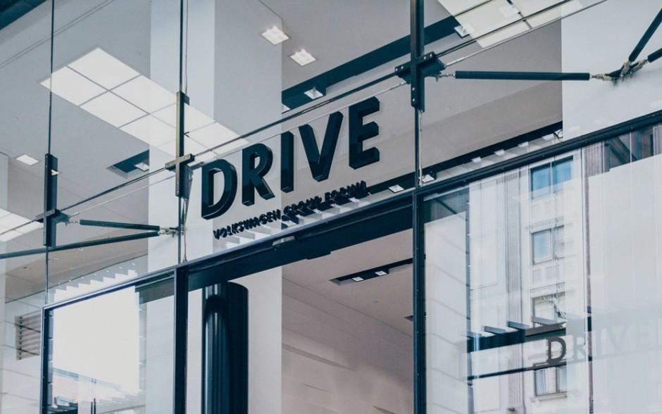 Corporate Design, Strichpunkt, DRIVE