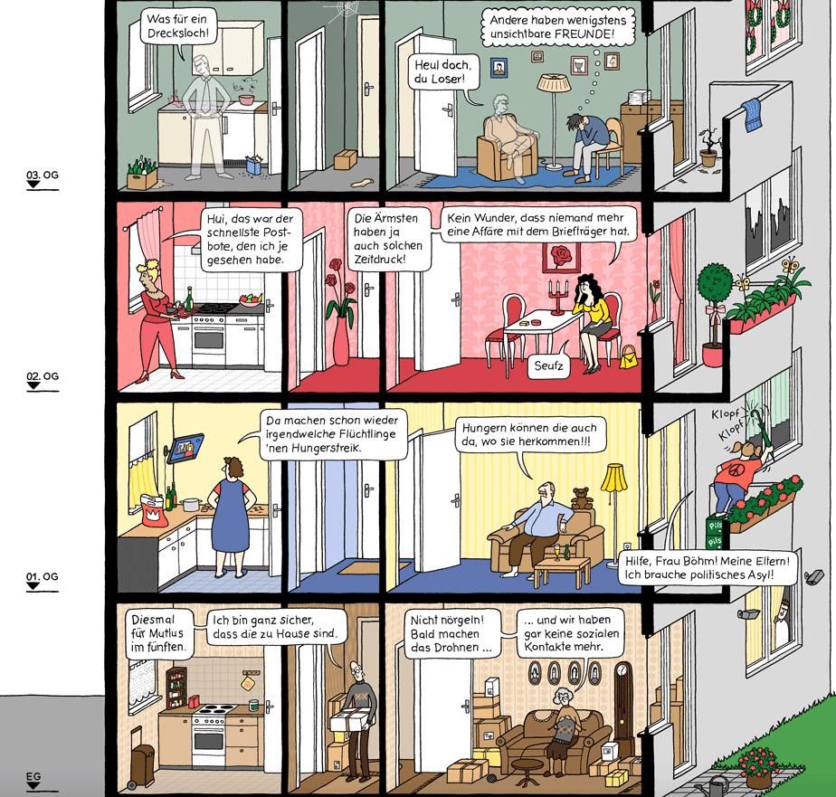 Webcomic, Comic