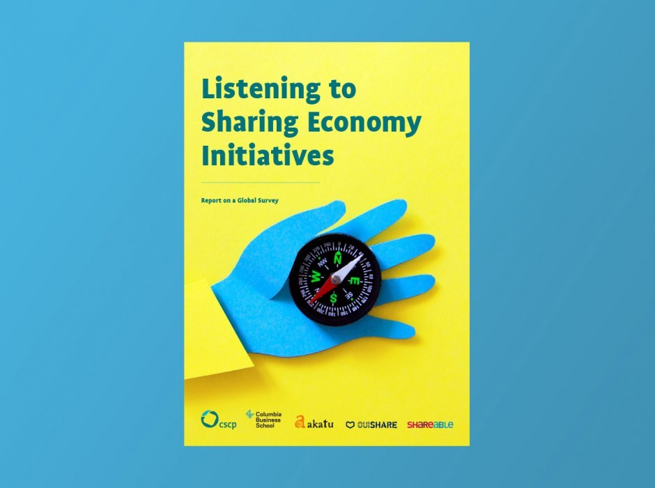Editorial Design & Illustrationen für den Sharing Economy Report, 2015