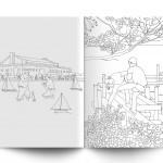 Mindless Violence Colouring Book, erschienen bei Modern Toss  in Brighton