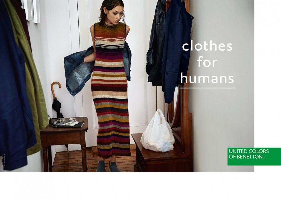 Die Agentur 180 Amsterdam entwickelte den neuen Benetton-Markenauftritt mit dem Claim »Clothes for Humans«. Fotos: Theo Wenner