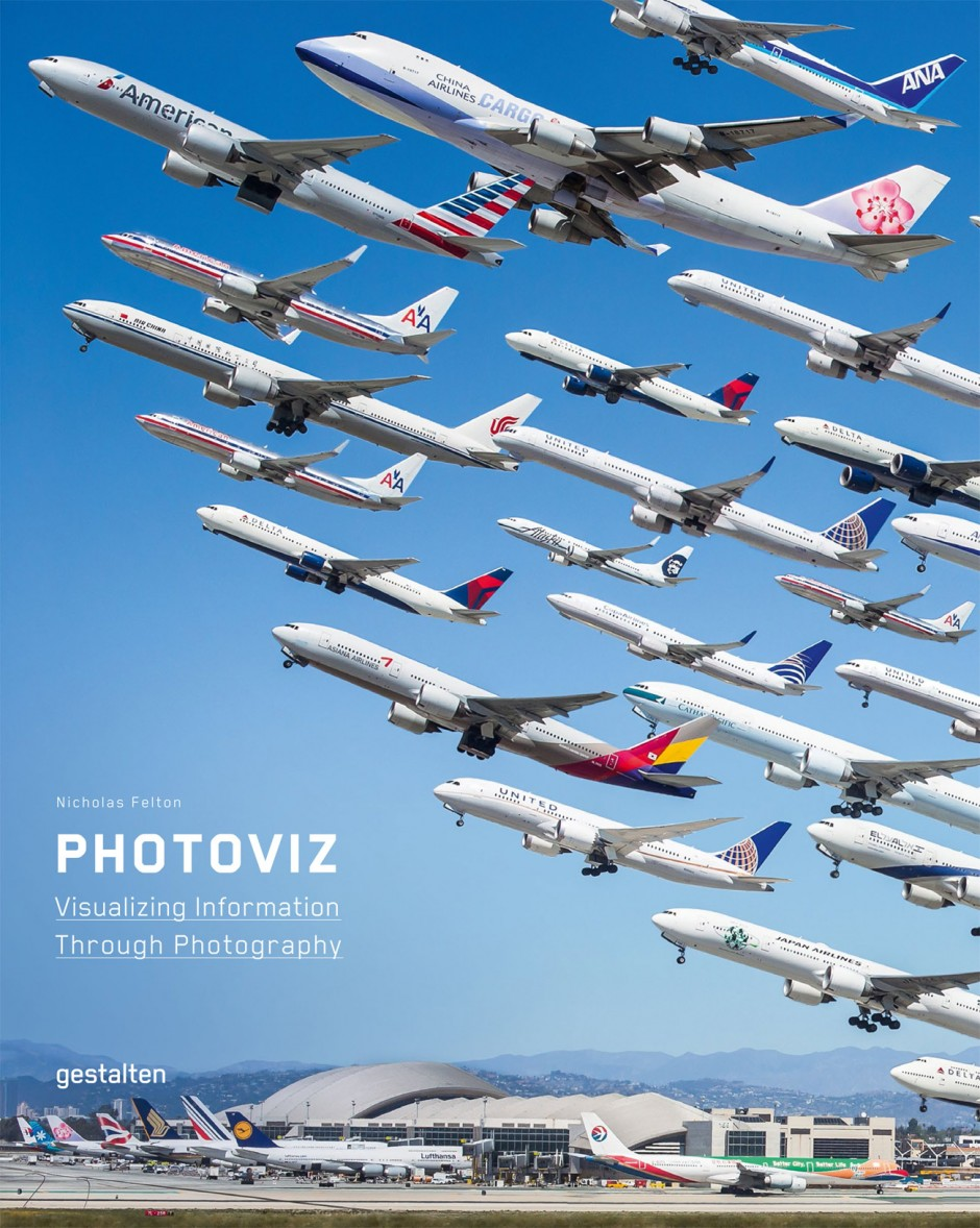 PhotoViz. Visualizing Information Through Photography, Gestalten Verlag Berlin, 39,90 Euro, ISBN 978-3-89955-645-2