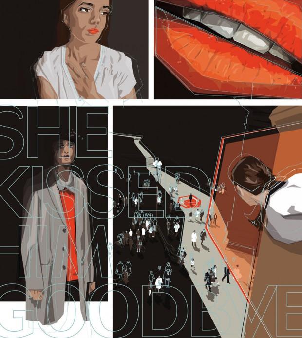 Illustrationen von Fritzi Stuke, die von der Frankfurter Agentur kombinatrotweiss vertreten wird