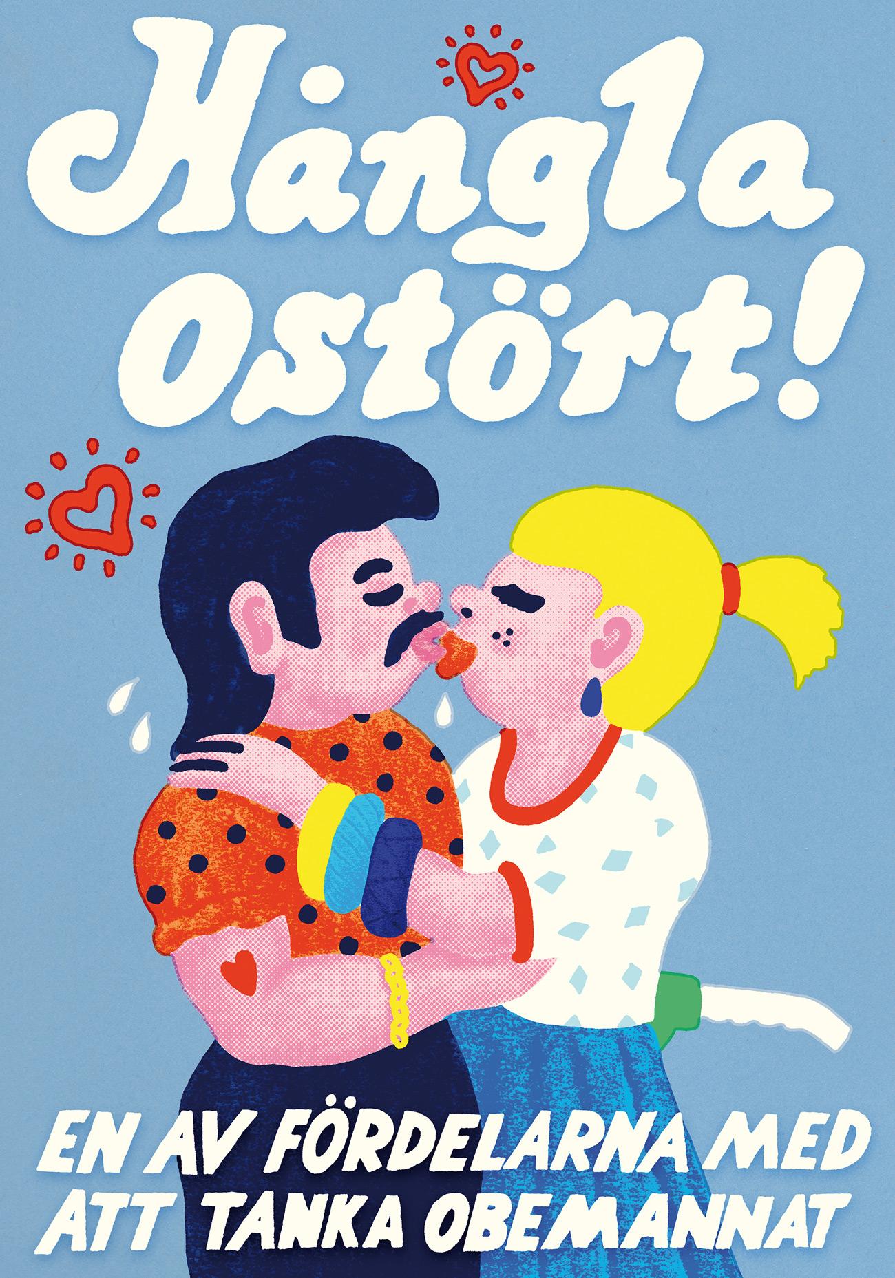 An den unbemannten Tankstellen von ST1 kann man sich ungestört daneben benehmen – behauptet diese schwedische Kampagne mit Illustrationen von Robin Ellis alias Sac Magique