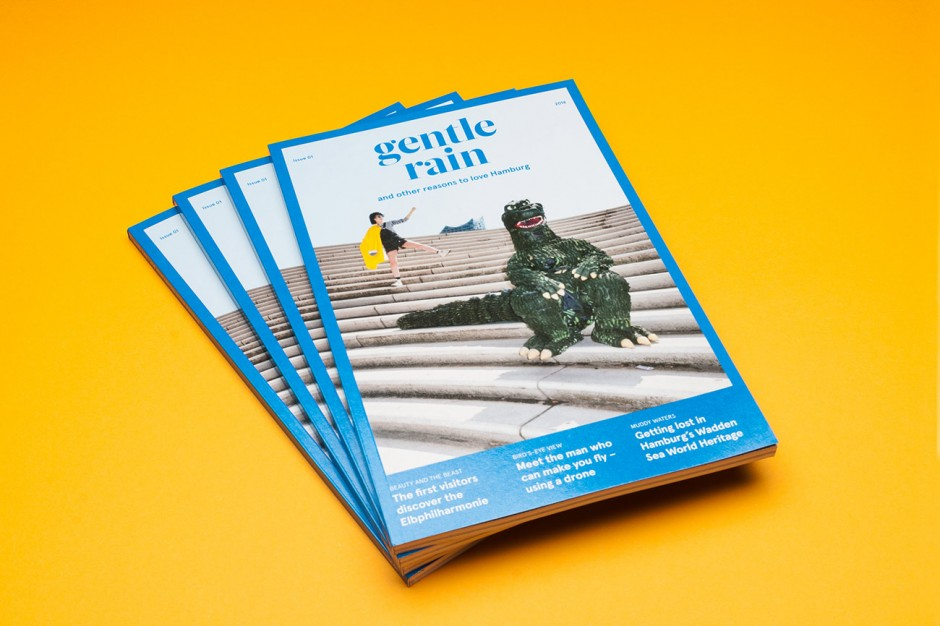 »gentle rain - and other reasons to love Hamburg« Issue 1