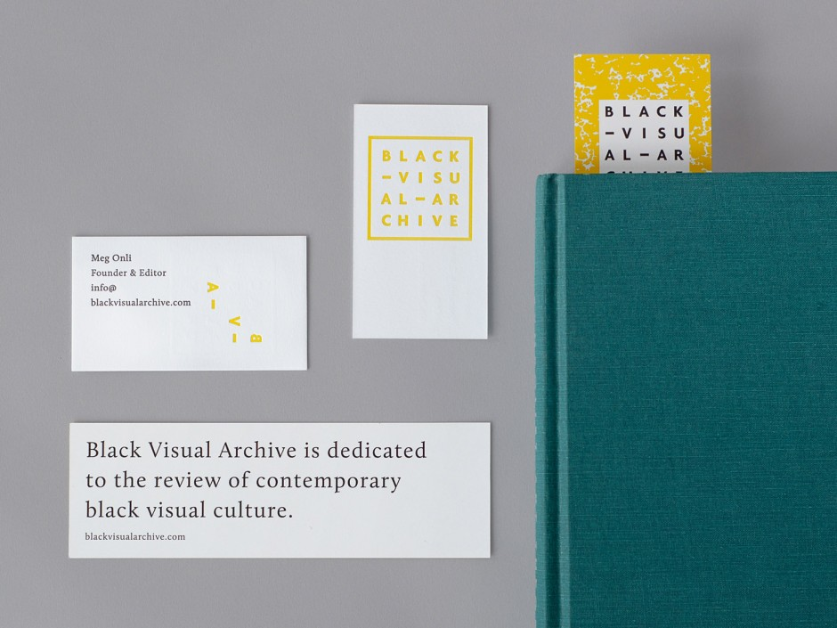 Branding for Black Visual Archive