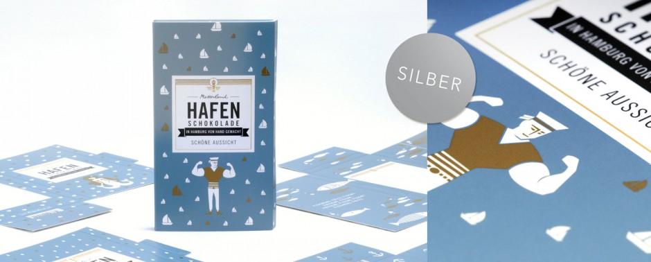 Verpackung Mutterland Hafenschokolade (Mediadruckwerk Gruppe GmbH)
