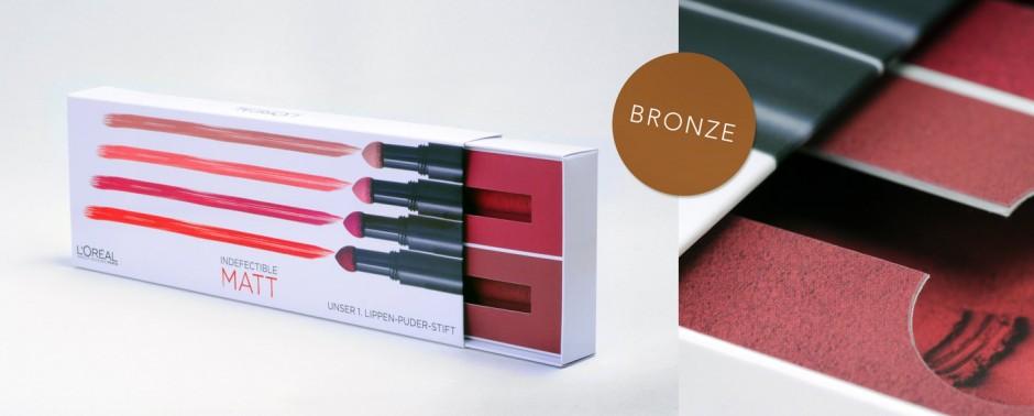 L'Oréal Verpackung Lippenpflege (paul + paul GmbH & Co. KG)