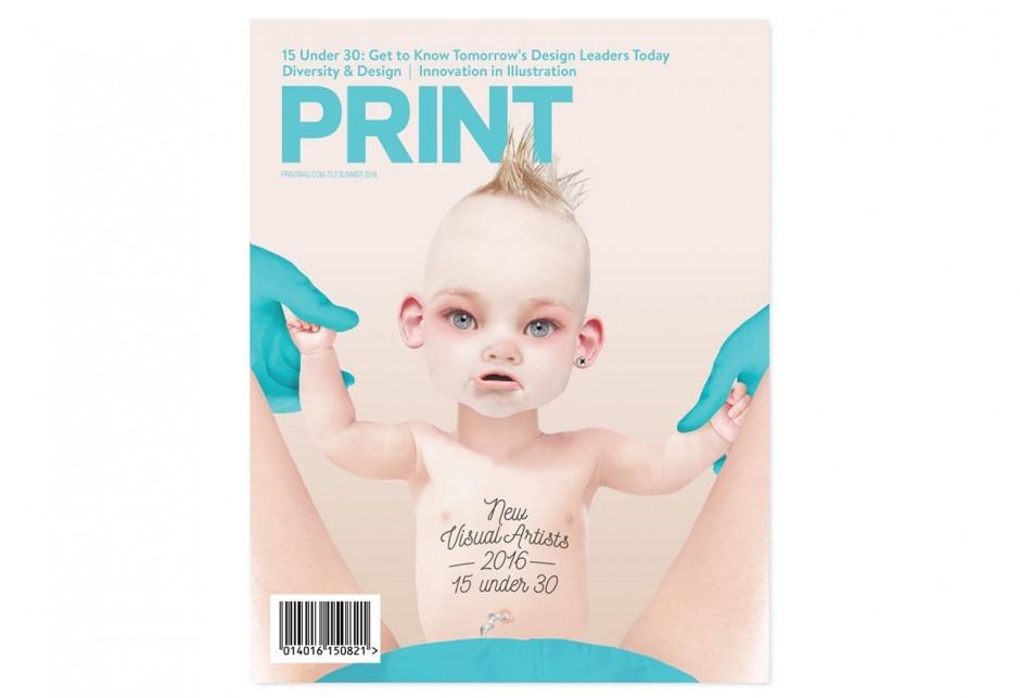 Print Magazine: Cover