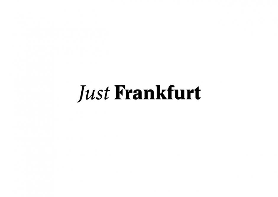 Just Frankfurt