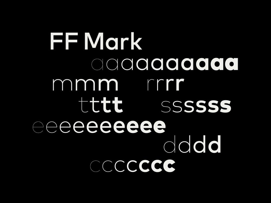 Die FF Mark ist die Schrift der Identity