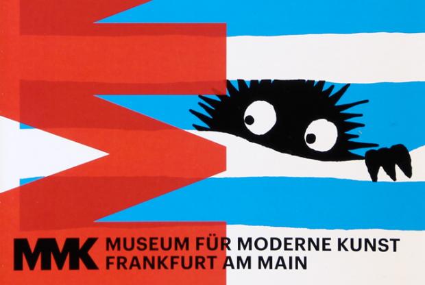 isual für unsere Ausstellung PSSST (im MMK Museum für Moderne Kunst Frankfurt am Main)