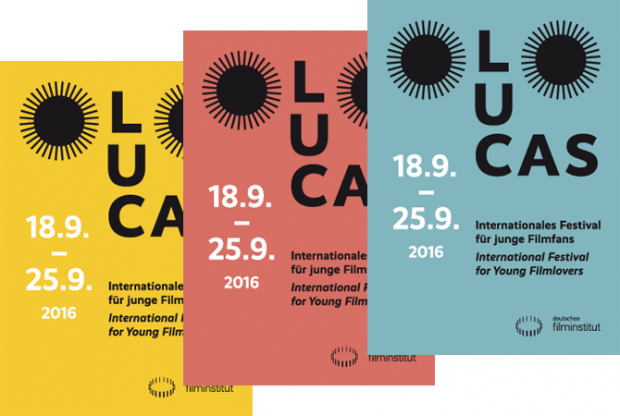 Corporate Design für LUCAS Internationales Festival für junge Filmfans