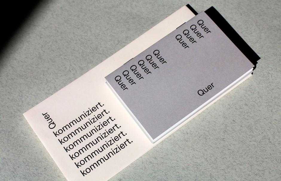 Quer kommuniziert: Branding