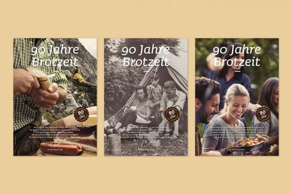 90 Jahre Brotzeit: Flyer