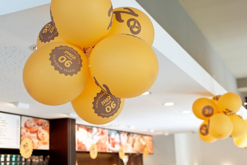 90 Jahre Brotzeit: Luftballons