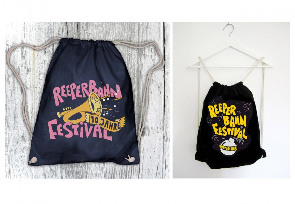 Illustrationen für Reeperbahn-Festival