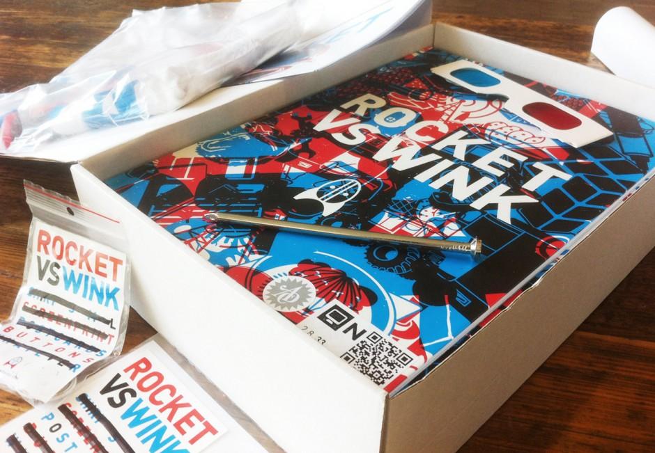 Rocket vs Wink - Brand Identity Projekt (Bachelor-Thesis)