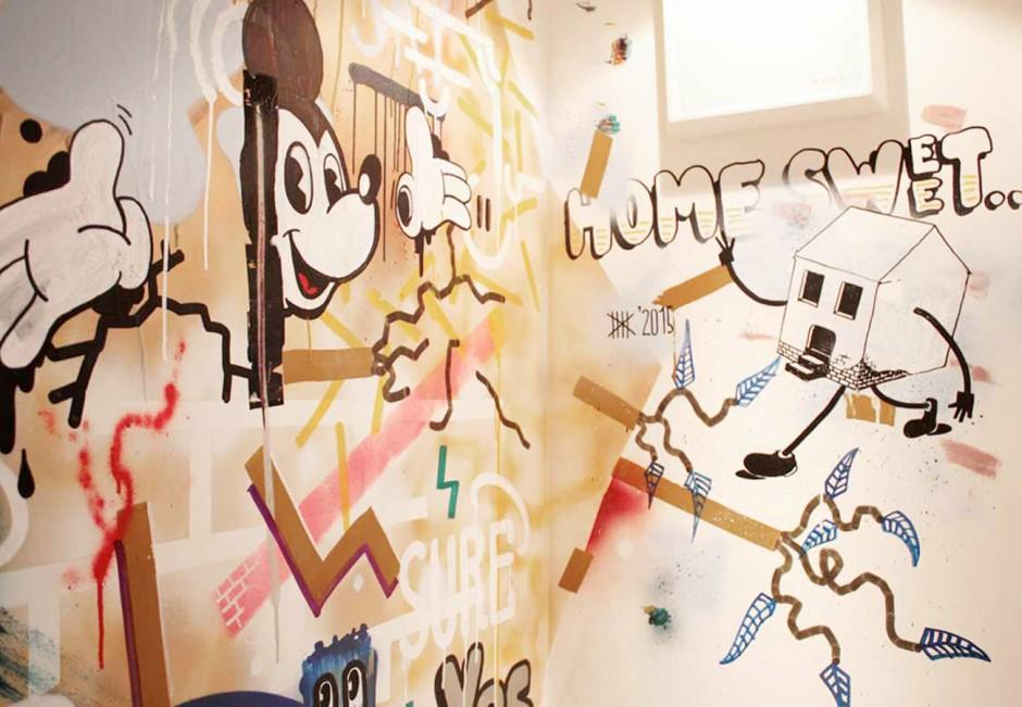 Freie Wandgestaltung (in Zusammenarbeit mit Benjamin Stemmer)
