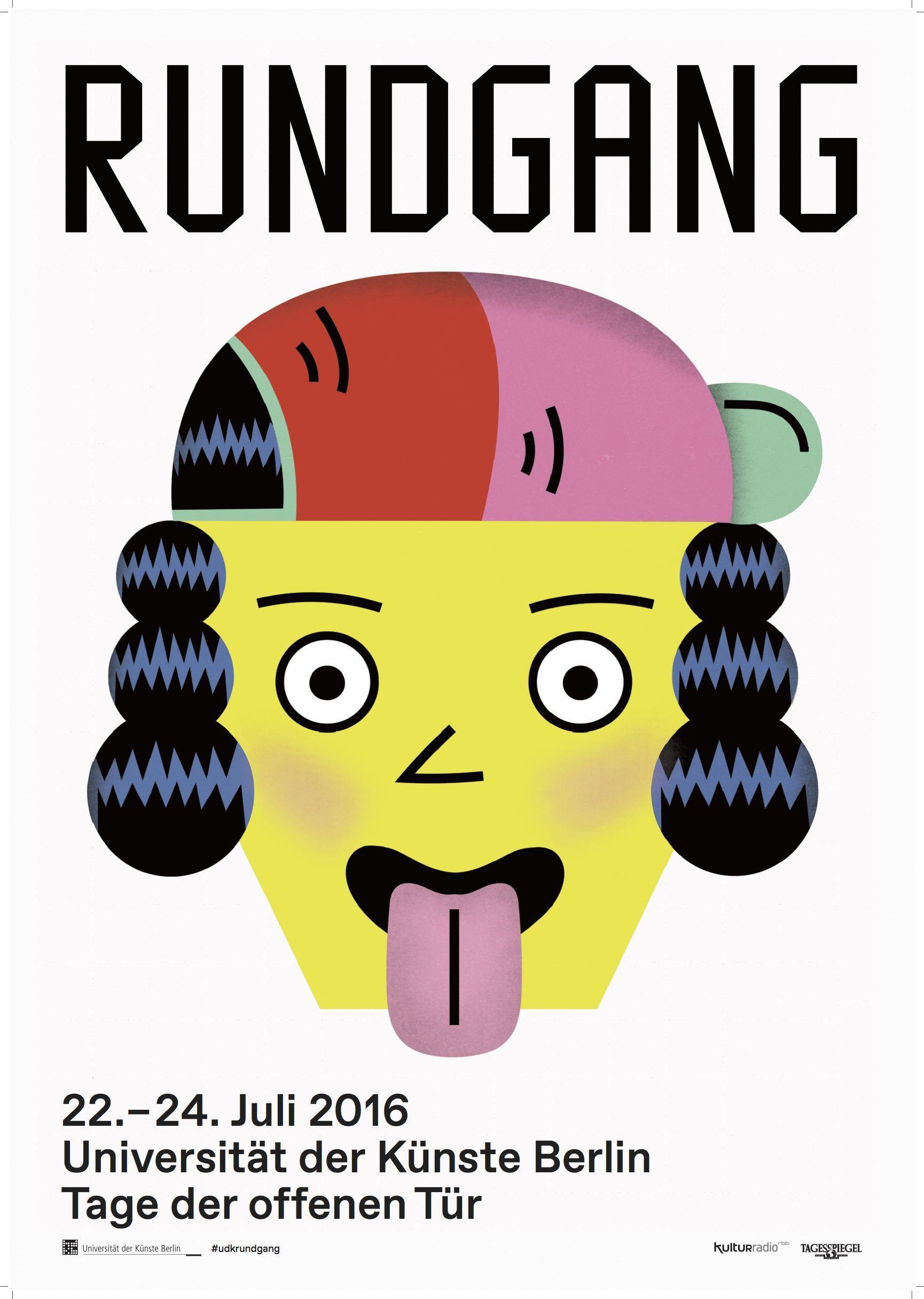 Tag der offenen tür plakat design  Tage der offenen Tür bei der Udk in Berlin / PAGE online