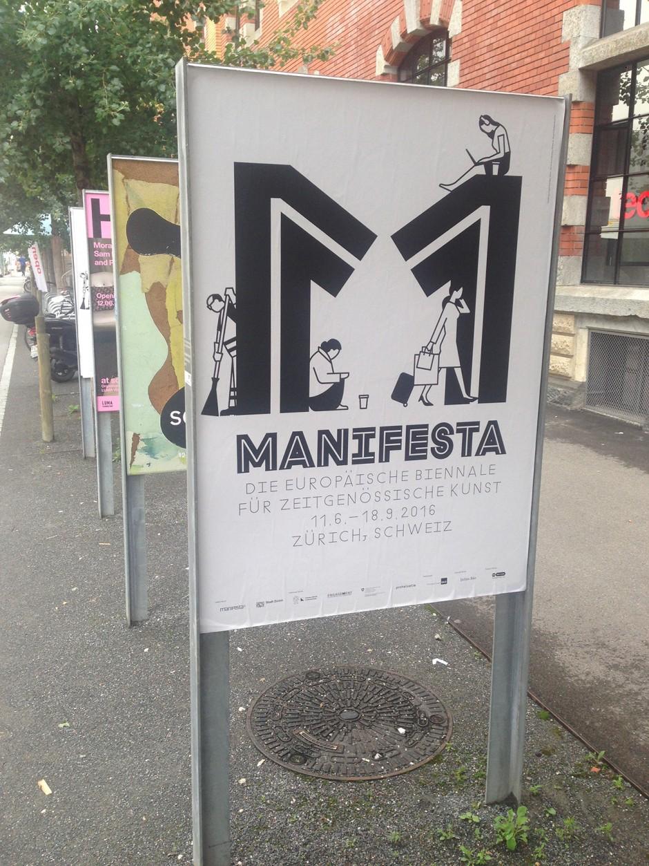 Ruedi Baur für die Manifesta 11