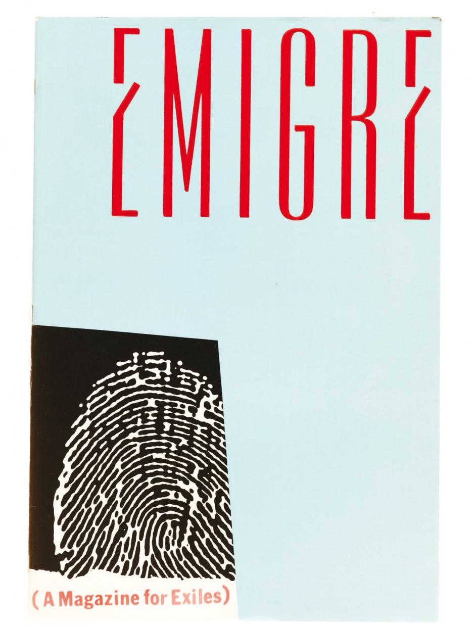 Emigre magazine #1, 1984