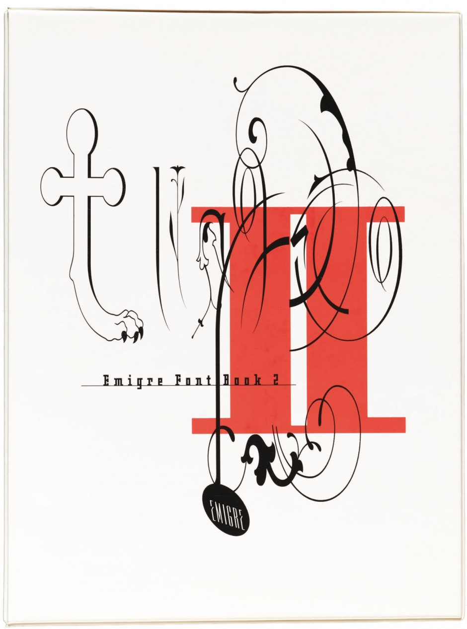 Clip-art font book published by Hakuo Publishing, Japan, 1993