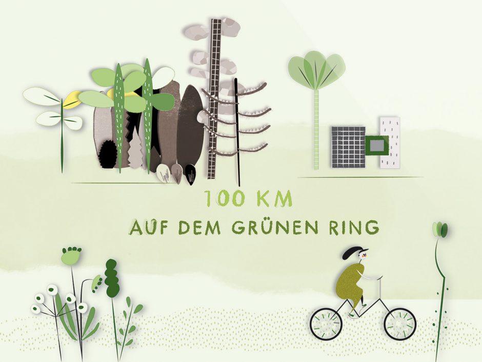 100km auf dem Grünen Ring