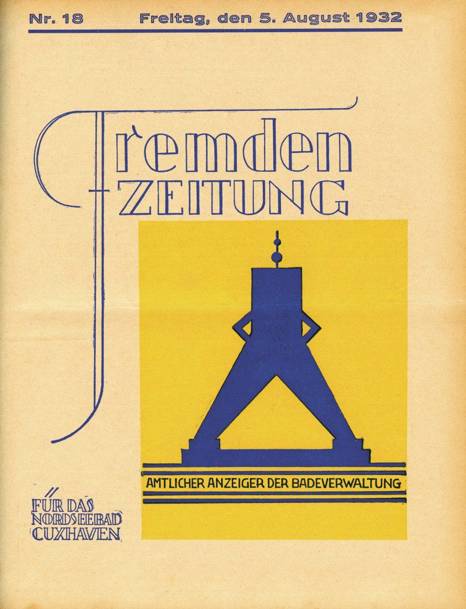 Fremdenzeitung von August 1932