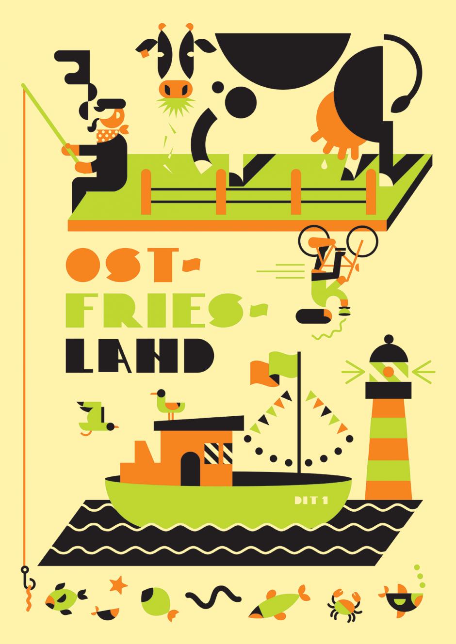 Plakat: Ostfriesland