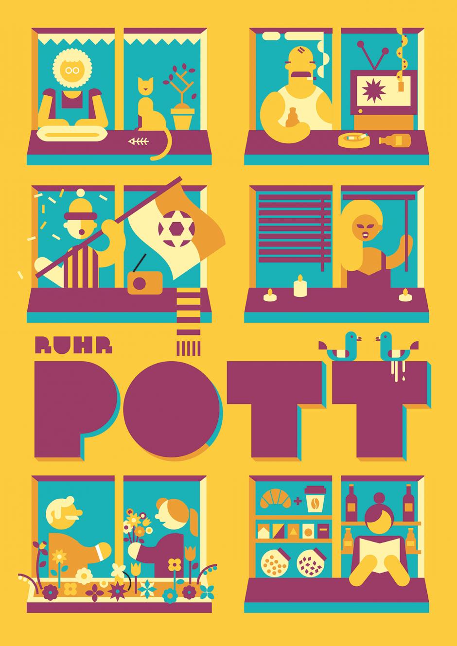 Plakat: Ruhrpott