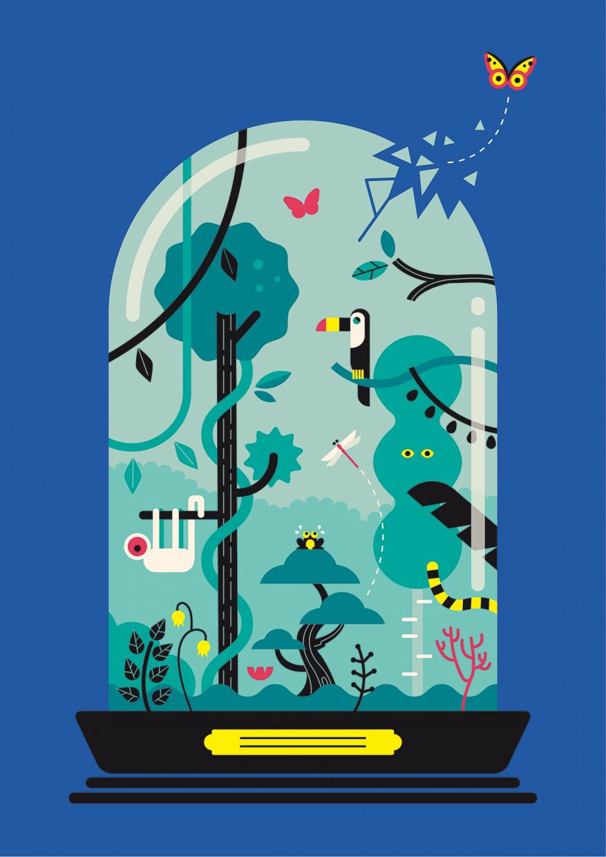 Poster: Botanik