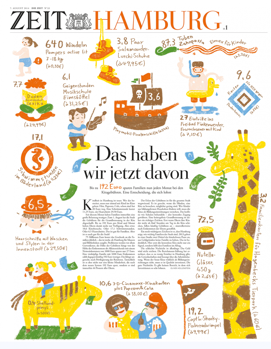 DIE ZEIT: Infografik Hamburg