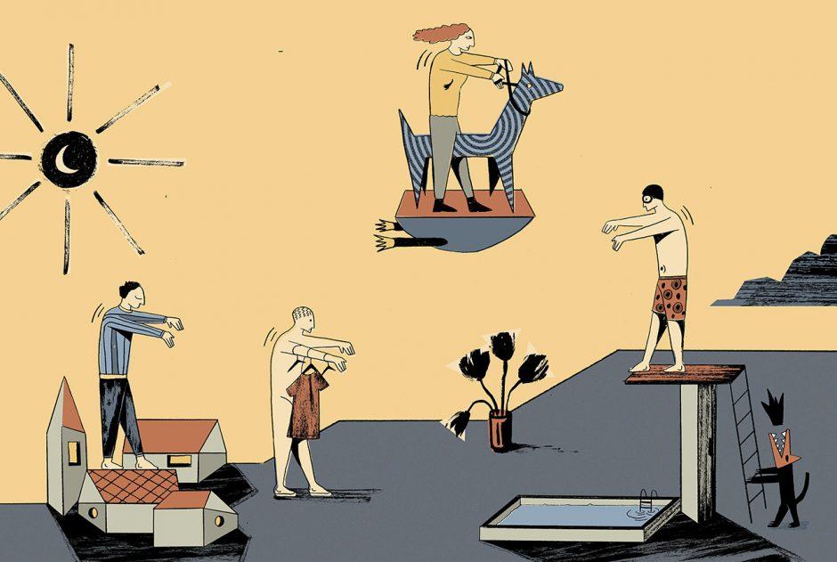 Illustration für das KOMMA Magazin