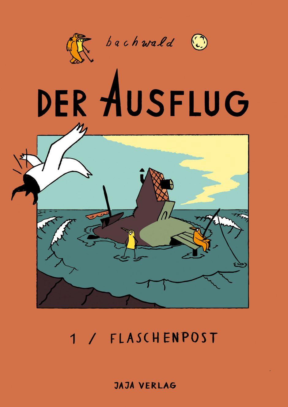 Der Ausflug – Wortloser Abenteuercomic in Zusammenarbeit mit Julian Fiebach (als Bachwald). 2015 beim Jaja Verlag erschienen